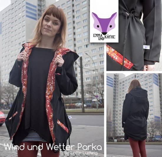 Foto zu Schnittmuster Mein Wind&Wetter von Lotte & Ludwig