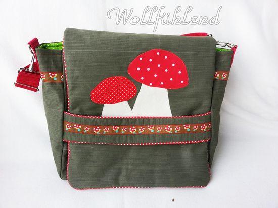 Produktfoto für Schnittmuster Wickeltasche Willow von Lillesol & Pelle