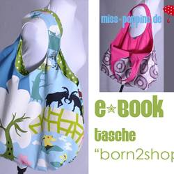 Ebook tasche born2shop f%c3%bcr dawanda