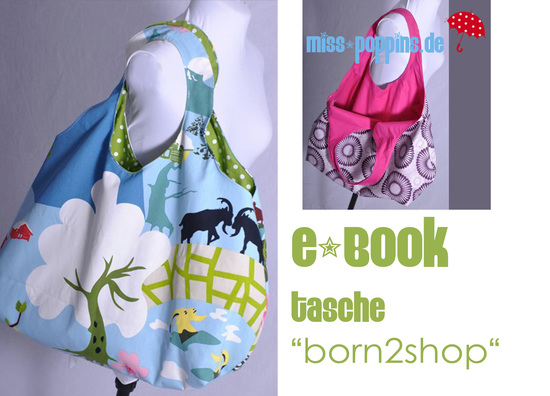 Ebook tasche born2shop f%c3%bcr dawanda