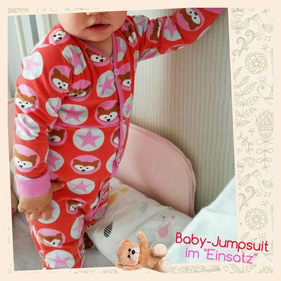 Produktfoto für Schnittmuster #35 Baby-Jumpsuit von Kid5