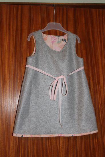 Schnittmuster Maus - Tunika/Kleid von Hummelhonig als e-book für Mädchen in den Kategorien Kleid, Oberteil (86–152)