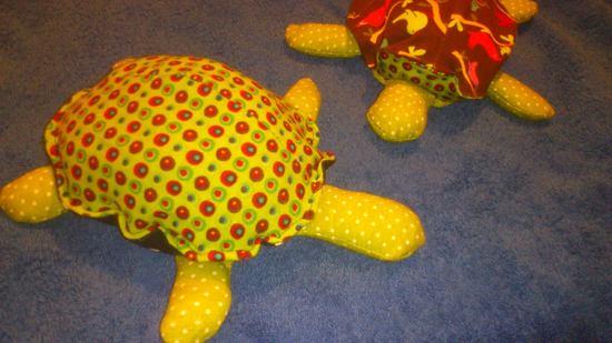 Kostenloses Schnittmuster Schildkröte von Schnabelina