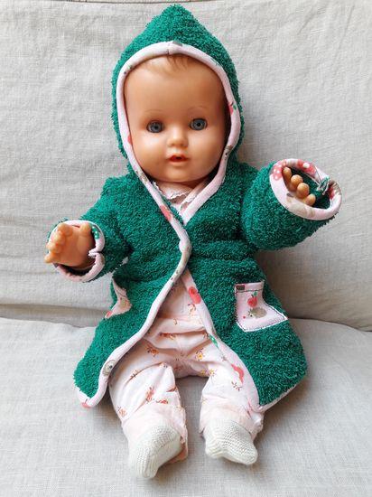 Produktfoto für Schnittmuster Puppenbademantel von Kate da Mate