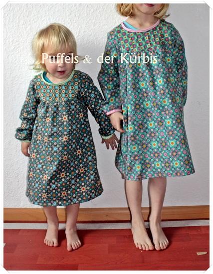 Schnittmuster Mina von ki-ba-doo als e-book für Mädchen, Babies in den Kategorien Kleid, Oberteil (74–164)