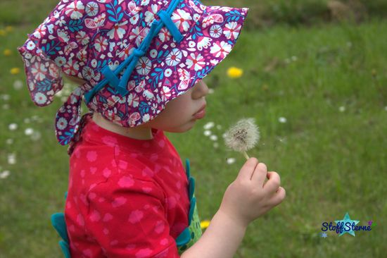 Foto zu Schnittmuster Polli-Kopftuch von Kleiner Polli-Klecks