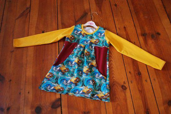 Schnittmuster Happy Sweet Dress von Happy Pearl als e-book für Mädchen in Kategorie Kleid (86–116)
