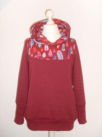 Produktfoto für Schnittmuster Damen Hoodie KAPUZIERT.4us von Leni Pepunkt