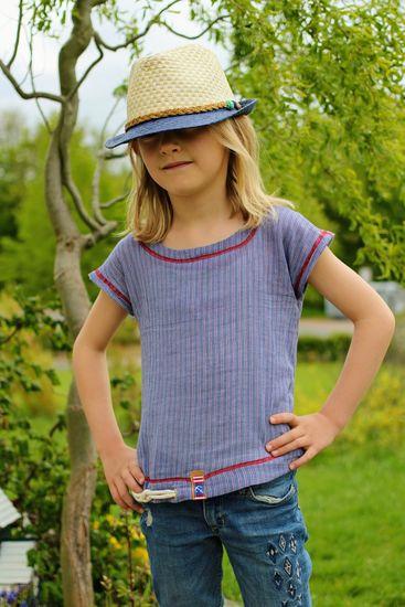 Produktfoto für Schnittmuster Basic Blusen-Shirt von ki-ba-doo