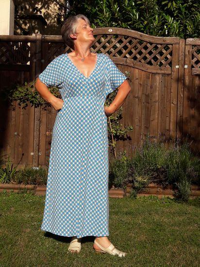 Produktfoto für Schnittmuster BREEZY.kleid von Leni Pepunkt
