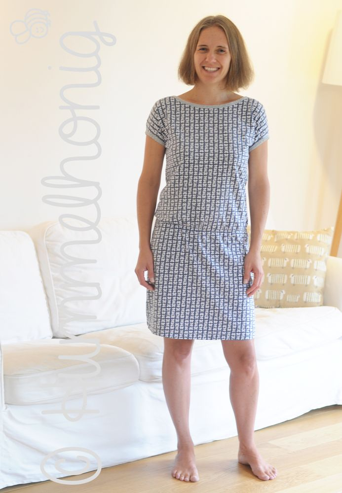 Foto zu Schnittmuster Rimini - Kleid von Hummelhonig