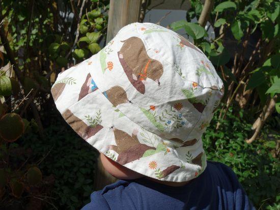 Produktfoto für Schnittmuster Egon der Anglerhut von Bunte Nähigkeiten