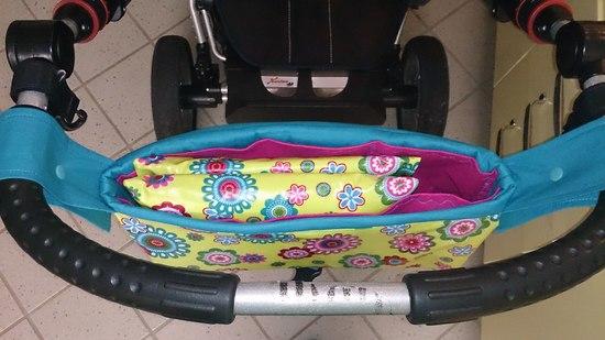 Produktfoto für Schnittmuster Kinderwagentasche Woody von Le-Kimi