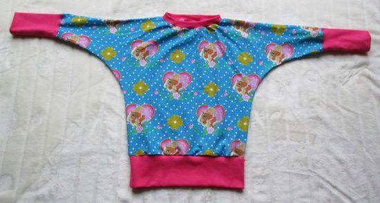 Foto zu Schnittmuster Fledermausshirt Nella von lolletroll