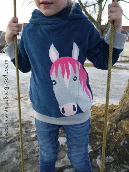 Produktfoto für Schnittmuster Robin Hoodie von Fabelwald