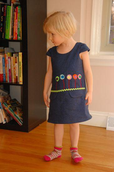Foto zu Schnittmuster #21 Cap Sleeve von Ottobre Design