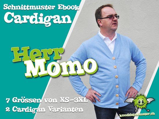 Produktfoto für Schnittmuster Herr Momo von Knuddelmonster