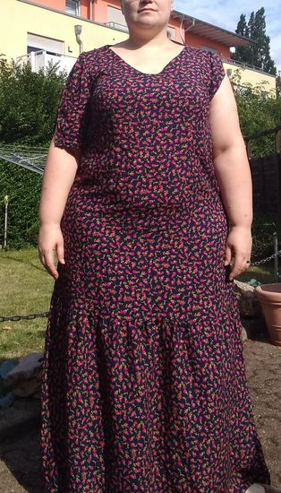 Foto für Schnittmuster Kleid Massima von SchnittmusterLounge