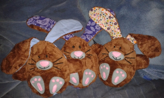 Produktfoto für Schnittmuster Hase im Ei von Stefanie Perlenfee