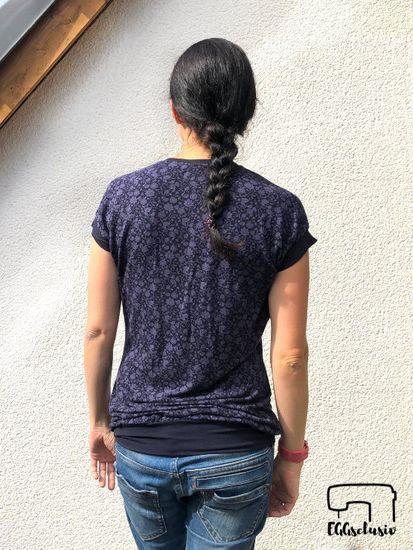 Produktfoto für Schnittmuster Shirt Santa Barbara von Pech & Schwefel