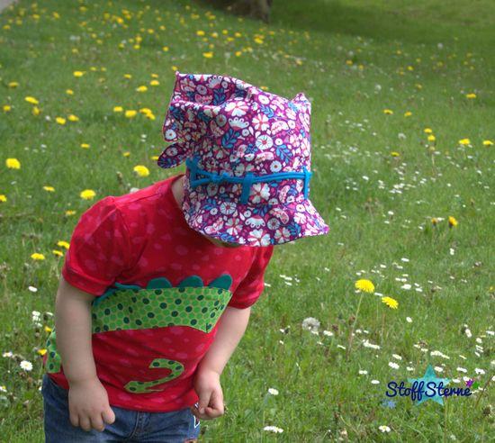 Produktfoto für Schnittmuster Polli-Kopftuch von Kleiner Polli-Klecks