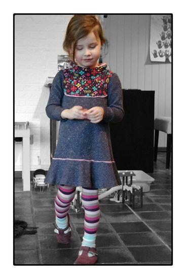 Foto zu Schnittmuster Trägerkleid von klimperklein