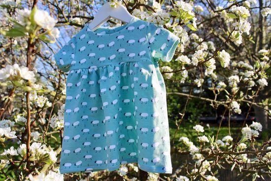 Produktfoto für Schnittmuster Tunika und Kleid mit Beleg von mar!gold