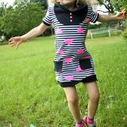"""Foto zu Schnittmuster Kleid & Shirt """"Mini-Mathilda"""" von kreativlabor Berlin"""