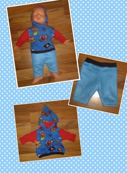 Foto zu Schnittmuster Shirt und Hose für Puppen von luni & druetken