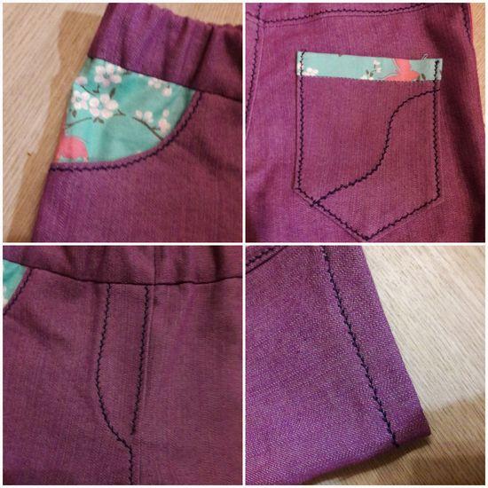 Produktfoto für Schnittmuster Mottis Jeans slimfit von Made for Motti