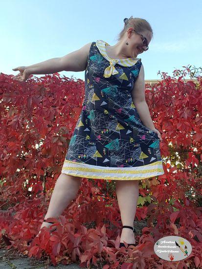 Foto für Schnittmuster Matrosenkleid Enie Damen von Bunte Nähigkeiten