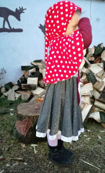 Produktfoto für Schnittmuster Scarlett - Das Rotkäppchenkleid von Bunte Nähigkeiten