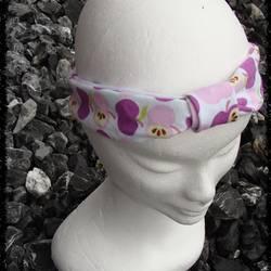 Haarband lila apfel