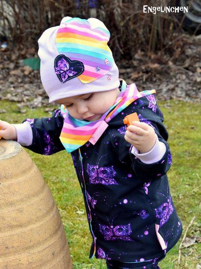 Produktfoto für Schnittmuster Babyjacke Ella von Engelinchen