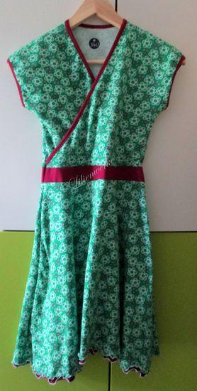 Schnittmuster Basic Wickelkleid von ki-ba-doo