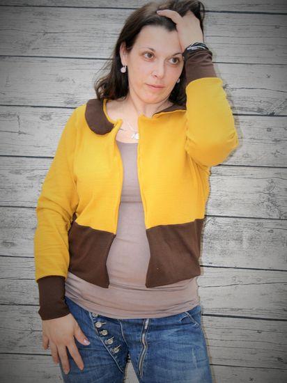 Foto zu Schnittmuster Jacke Clara von lilly by Lillestoff