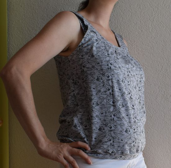 Produktfoto für Schnittmuster Lady Topas von mialuna