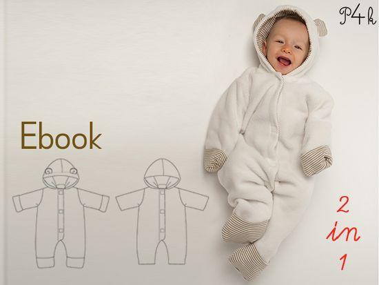Produktfoto für Schnittmuster Cassia von Pattern 4 kids