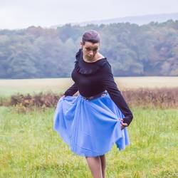 Foto zu Schnittmuster Tüllrock Mademoiselle von lilabrombeerwölkchen
