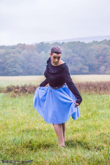Schnittmuster Tüllrock Mademoiselle von lilabrombeerwölkchen