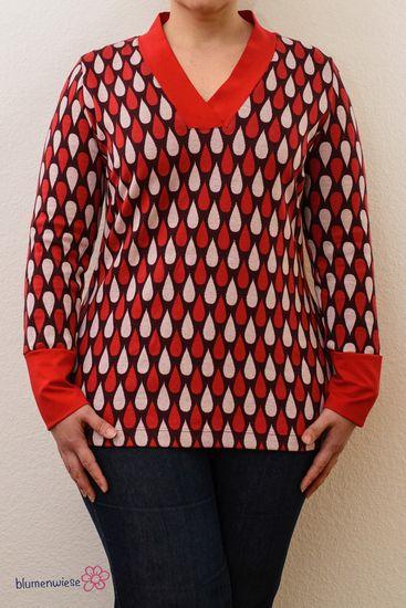 Foto zu Schnittmuster Lillesol women No. 24 Shirt mit V-Ausschnitt von Lillesol & Pelle