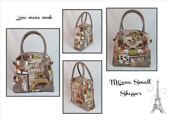Foto zu Schnittmuster MiLana Shopper von Lene mene muh