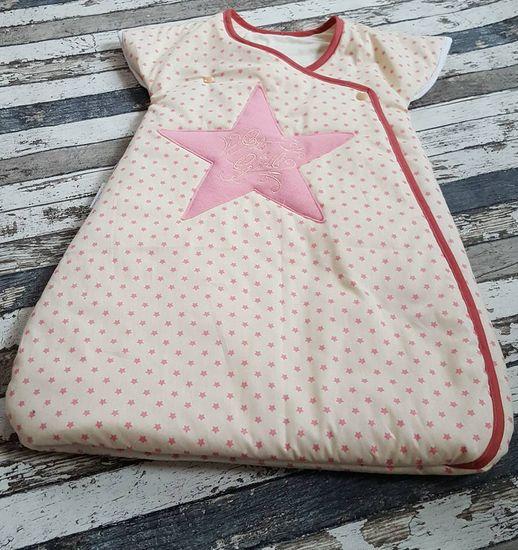 Foto zu Schnittmuster Babyschlafsack Horst von andereseite