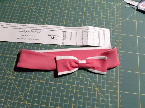 Produktfoto für Schnittmuster Schleifen-Knoten-Haarband von Mamilu Design