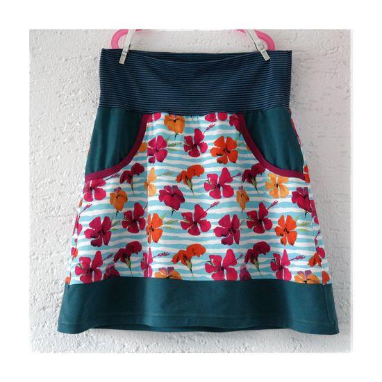 Kostenloses Schnittmuster Lady Sweat Skirt von Lin-Kim