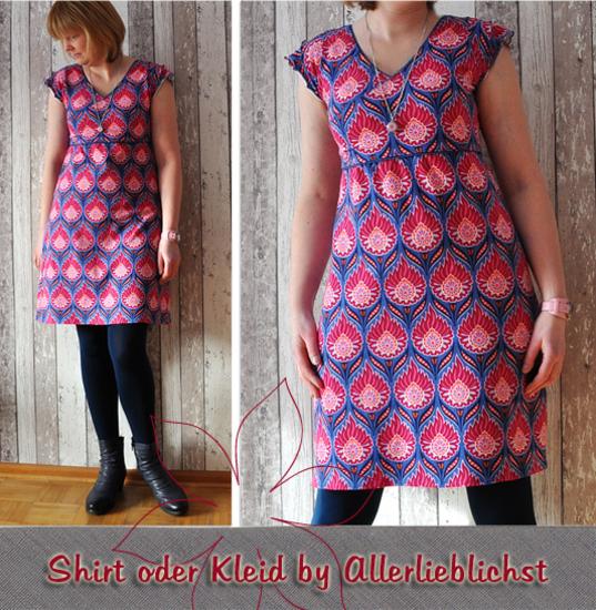 Foto zu Schnittmuster Shirt oder Kleid von Allerlieblichst