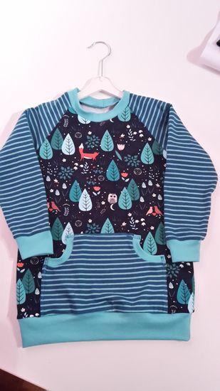 Foto für Schnittmuster #5 Raglan Sweater von Kid5