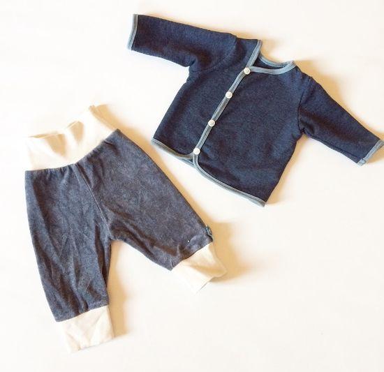 Produktfoto für Schnittmuster Shirt-Jäckchen von Muhküfchen Design