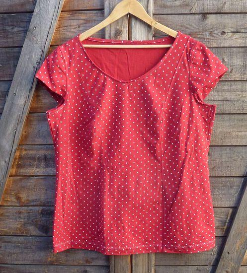 Foto zu Schnittmuster Blusenshirt Jenny contour 2.0 von TINALisa Schnittdesign