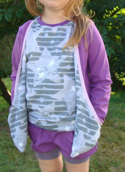 Produktfoto für Schnittmuster TraumCardigan Girly von AmElina Träumelie